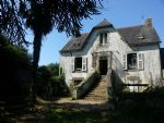 2 bedroom house with large attic to convert and basement. Large enclosed garden with outbuildin