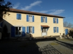 L Shaped farmhouse with outbuilding on 2385m² of land