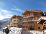 Ski in ski out luxury apartments in new Tignes village