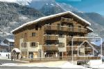 Apartment with gardens in the very centre of Les Contamines.
