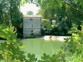 Old Converted Watermill in Languedoc
