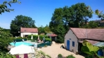 For sale house with cottage and swimming pool Burgundy