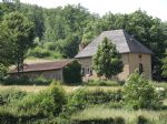 Pretty, rural position, small garden. 4 rooms plus bath/wc. Enormous room in attic. Outbuilding