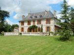 Fully renovated stunning 16th cent 4 bed chateau + renovated 3 bed house, land, stables, lake