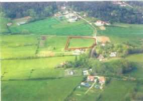 Superbly situated plot of building land near Le Bugue