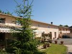 4 bed house with 3 gites, pool and 2.5 acres, bordering a river