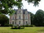 Striking Chateau nr Saumur with Pool and Gites