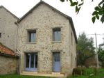 Between Saint Savin and Angles sur l Anglin: former barn, that is being converted into a house