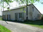 Between Saint Savin and Angles sur l Anglin: house in the process of restoration, with garden