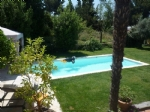 Town house of 123 m2 on 960 m2 garden with pool