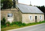 Traditional stone house with an outbuilding (near Gouarec)