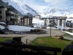 Apartment very well situated with balcony, cellar and ski-locker (in Tignes)