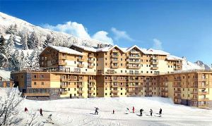 FANTASTIC High Spec Ski-in Ski-out Apartments in a Lively Resort