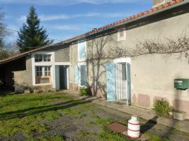 Very nice house for renovation near St Claud