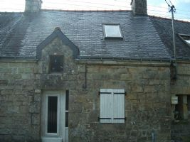 Mid Terrace Stone Cottage For Renovation, On Edge Of Village
