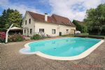 Saint-Priest-Les-Fougeres (Dordogne) - Farmhouse and cottage for sale on edge of village, with barn