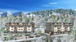Studio apartments in a brand new development opposite the lift station in the heart of St Gervais.