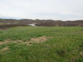 Land 0.44 acres with permission to build near to Marciac. Panoramique views of the Monpardiac lake