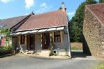 Close to Aigurande, chaming small semi detached house, ready to move in. Barn.