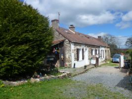 A renovated cottage & garden situated in the heart of rural France in the Indre