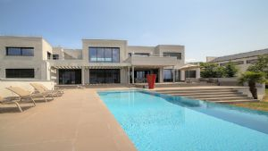 LAKESIDE MESSERY - Contemporary style 7 bedroom villa with stunning views of lake Geneva.