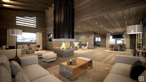 MEGEVE - Two new fabulous chalets under construction in a prime and quiet location