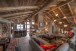 MEGEVE - Stunning three level farmhouse located in Mont d'abois comprising of 9 bedrooms.