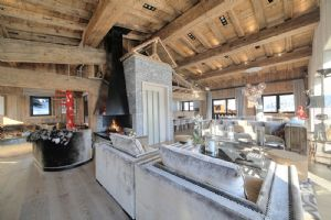 MEGEVE - Spectacular 3 level chalet located in the centre of Megeve.