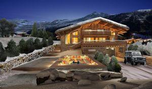 MEGEVE-DEMI QUARTIER – Beautiful new high specs chalet near the ski runs with beautiful view ov