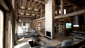 MEGEVE - CENTRE A PIED - Wonderful chalet constructed with high quality modern materials