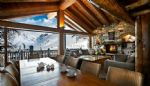 VALDISERE - 6 Bedroom chalet with breathtaking view on the Vallee Du Manchet.