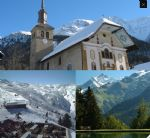 Les Contamines : 2 plots of constructible land for sale