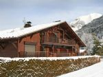 Well maintained 1 bedroom apartment with decking and garden, garage, ski locker and storage