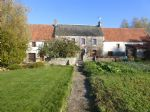 Farmhouse with 2,569 sqm of land, south facing - fabulous views over the marshes