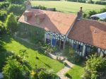 Typical French Longère, 1.3 hectares with landscape gardens