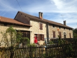 Hamlet house, gite & barn + 3.6 hectares of land.