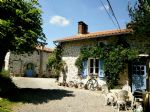 Outside of Chabanais is a 2 bedroom house with gite, with land ideal for horses
