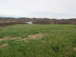 Land 0.44 acres with permission to build, near to Marciac. Panoramique views of the Monpardiac lake