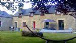 Betweenlamballe  et  moncontour, elegant character house with modern interior.