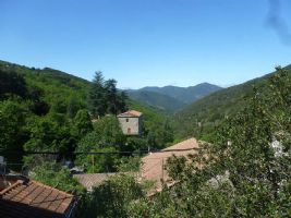 *Stone village house of 90m2 with terrace and views in the Languedoc National Park