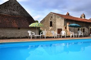 Superb gite complex with swimming pool near Magnac Laval
