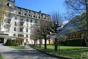 A stylish apartment in an historic Chamonix property