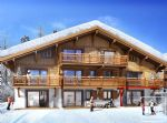A new development - chalet style apartment block of 8 apartments.
