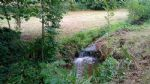 On 6520 m2 land attached with little river in quiet hamlet
