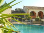 Hacienda-style 4-bed villa with pool, guest house, garage (close to Nimes)
