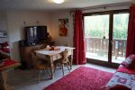 Furnished apartment with balcony (near Megeve)