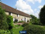 Charming stone property with a veranda and outbuildings (near Belleme)