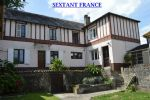 3 bedroomed town house with garden and outbuildings.