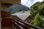 2 bedroom ski apartment Flumet village centre