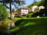Large gite complex, house and 6 gites, pool, land, stream